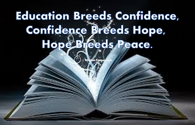 education quote hope