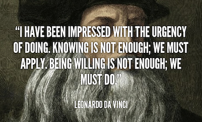 education quote davinci