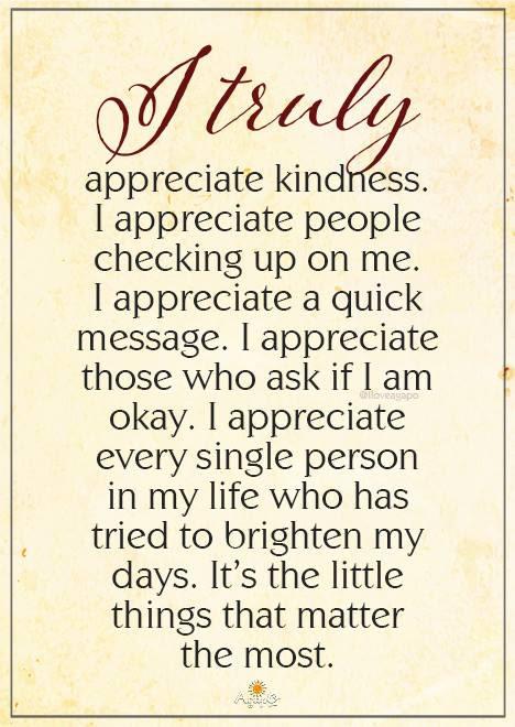 Kindness Quote Appreciation