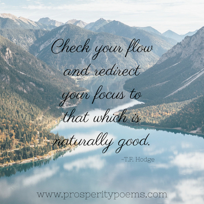 Prosperity Poem Flow Quote