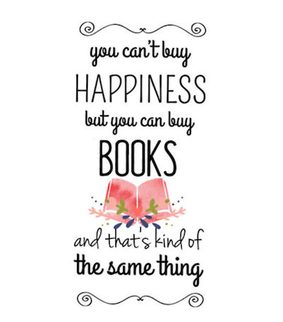 reading quote happiness