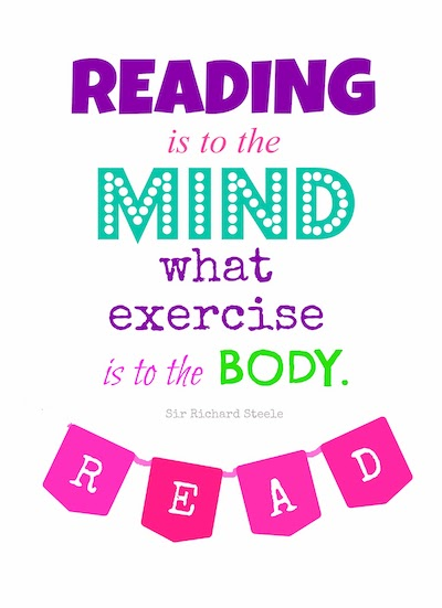 reading quote exercise for the mind