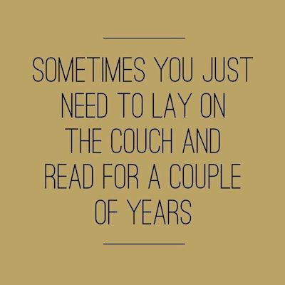 reading quote 8 couch years