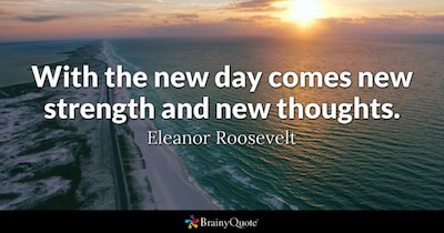 Thought Quote Eleanor Roosevelt